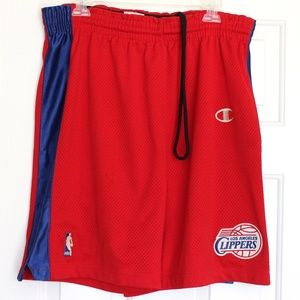 Champion NBA Los Angeles Clippers Authentic Shorts